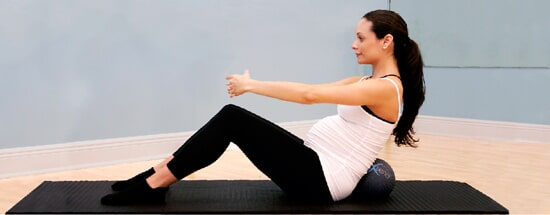 exercise of Pilates in Singapore during pregnancy