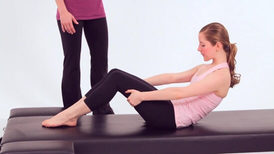 Pilates exercise can help you to improve posture